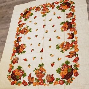 Other - Tablecloth vintage Thanksgiving
